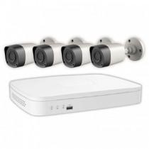 Camaras de seguridad Viewsonic kit x 4 con DVR y disco  rígido 1TB