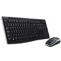 Teclado y Mouse LOGITECH MK-270 inalambrico
