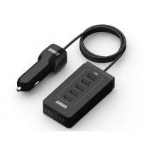 Cargador ANKER 12V a 5 conectores USB