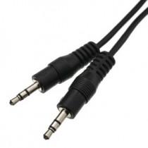 Cable Audio 3 1/2 a 3 1/2 x 1m AUX