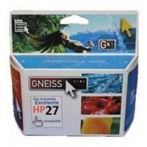 Cartucho GNEISS Alternativo HP 27 XL