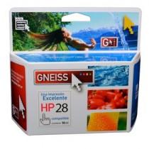 Cartucho GNEISS Alternativo HP 28 XL
