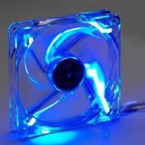 Cooler para gabinete 8 cm con luz led