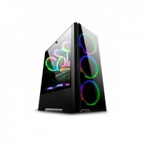 Gabinete Sentey T20 RGB con fan cooler sin fuente