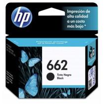 Cartucho HP 662 Negro Original