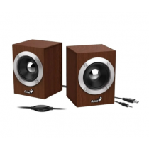 Parlantes 2.0 Genius SP-HF180 6W USB Black