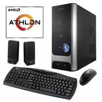 Equipo AMD ATHLOM 3000G 3.4ghz Am4 Radeon R7 / 8GB / SSD 240GB / WI-FI