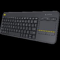 Teclado LOGITECH K400 Plus Wireless con touchpad